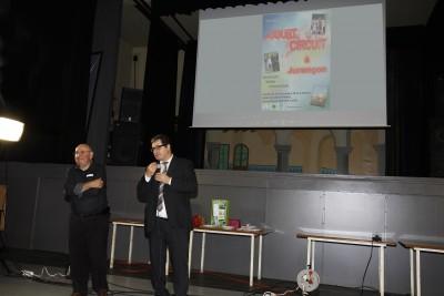 Y Turon Président de l'EPN M Bernos Maire de Jurançon