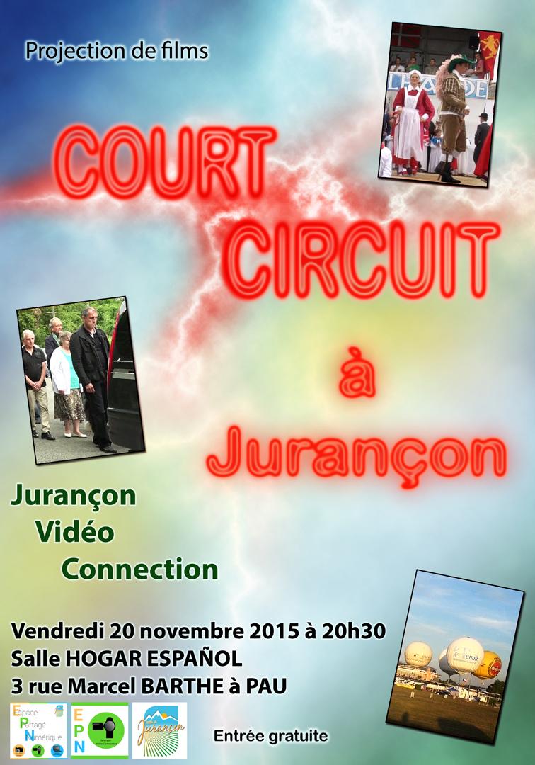 Le 04 novembre 2016 – Court-circuit à l'Atelier du Neez  à Jurançon