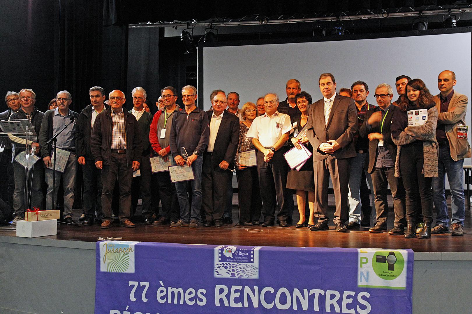Palmarès des 77èmes rencontres régionales de la FFCV